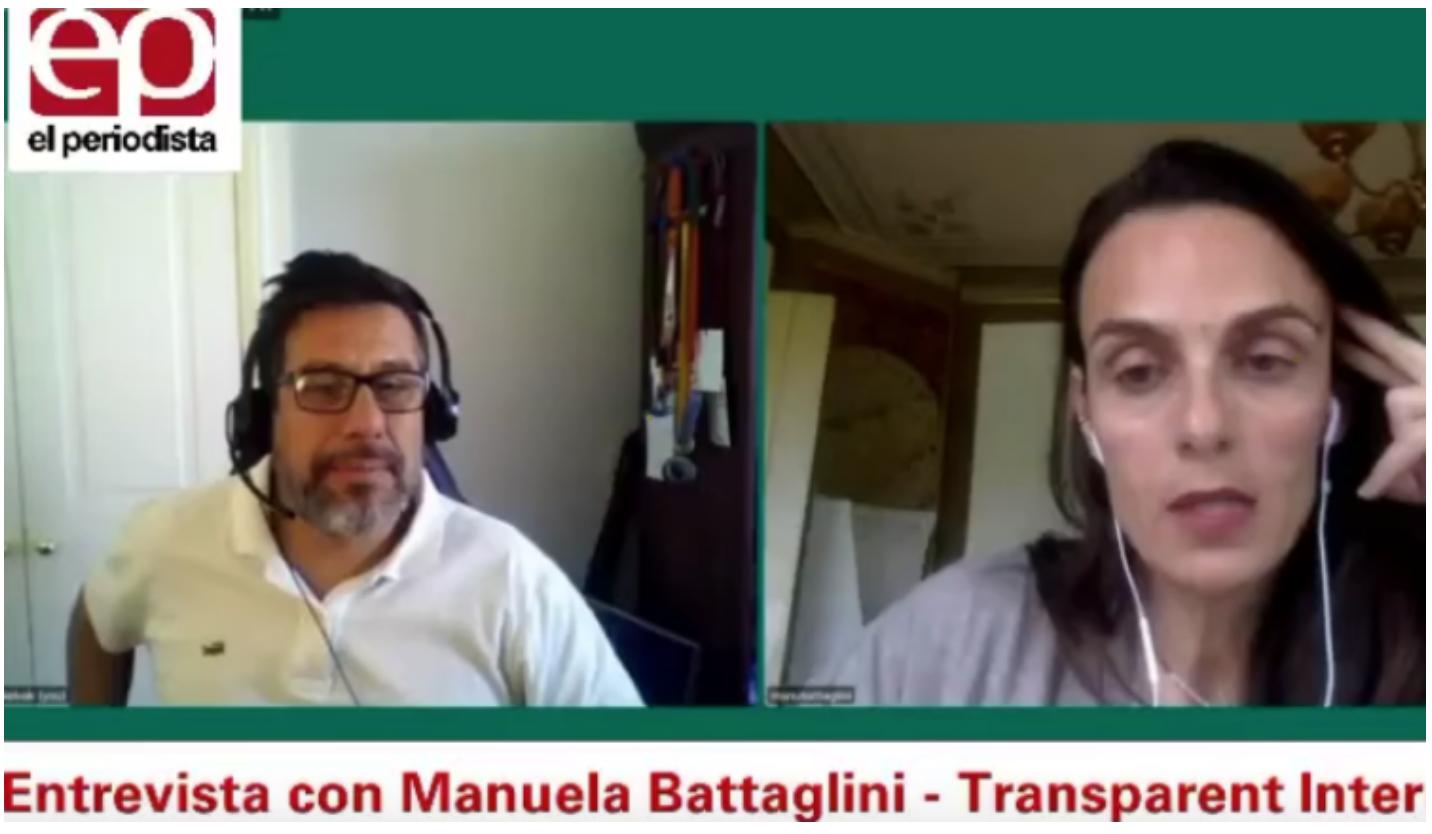 Conversamos con Manuela Battaglini experta en ética de los algoritmos